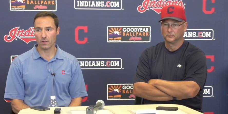 Chris Antonetti and Terry Francona Discuss Roster Moves