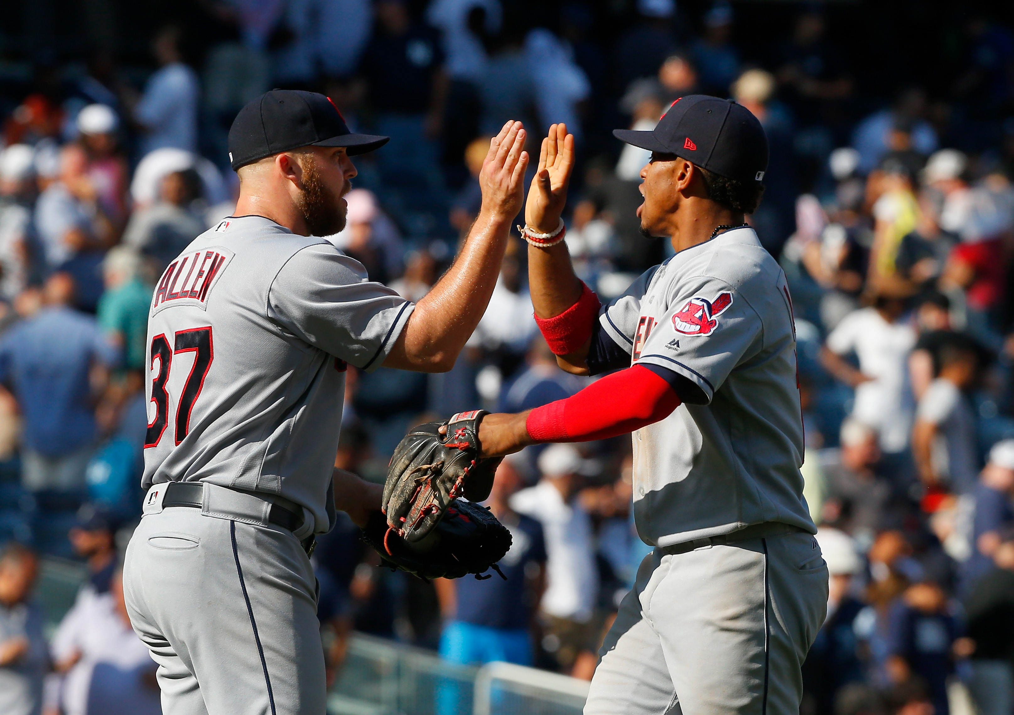 Copy-Kluber's 8 innings lead Indians past Tigers